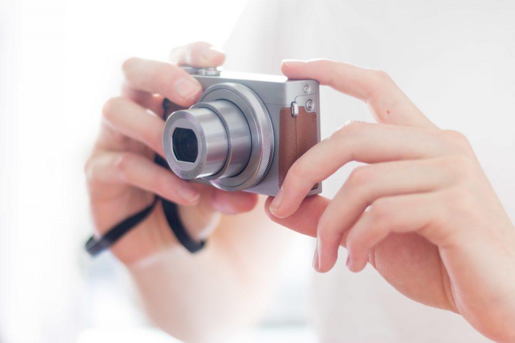 3種類のデジタルカメラの特徴紹介